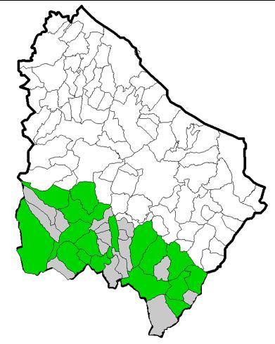 """Figura 6.4 – Localizzazione dei plessi """"primaria"""""""