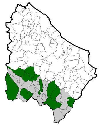 """Figura 6.5–Localizzazione dei plessi """"secondaria 1"""