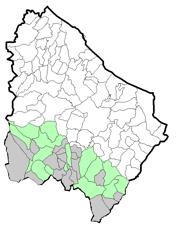 """Figura 6.6–Localizzazione dei plessi """"secondaria 2^""""-2"""