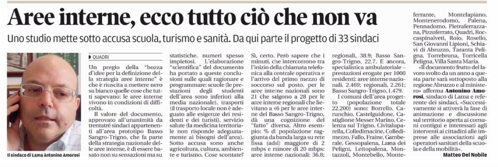 """Articolo """"Il Centro"""" - 2 luglio 2015"""
