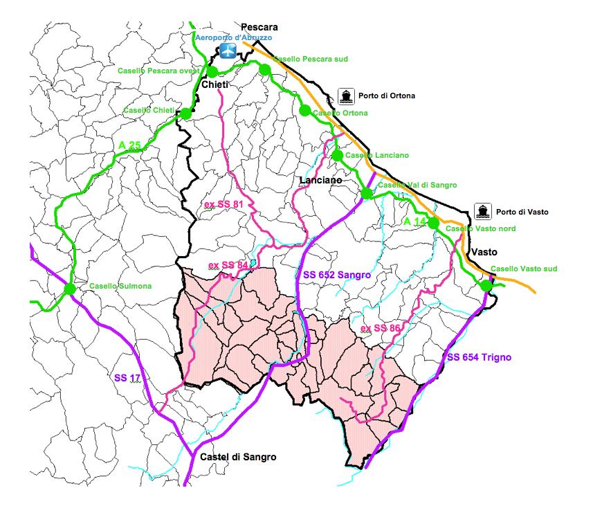 La rete stradale